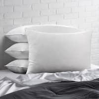 Signature Allergy Resistant Down-Alternative Gel Fiber Standard-Size Pillow (Set of 4) - White