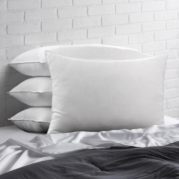 Signature Down-Alternative Gel Fiber Standard-Size Pillow (Set of 4) - White