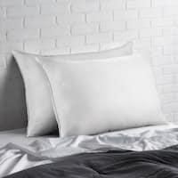 Signature Allergy Resistant Down-Alternative Gel Fiber Standard-Size Pillow (Set of 2)