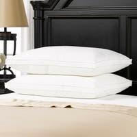 Luxury Plush Gusseted Down-Alternative Gel Fiber Standard-Size Pillow (Set of 2)
