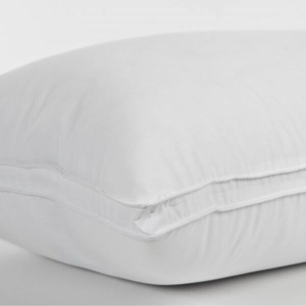 Gusseted Down-Alternative Gel Fiber Queen-Size Pillow (Set of 4)
