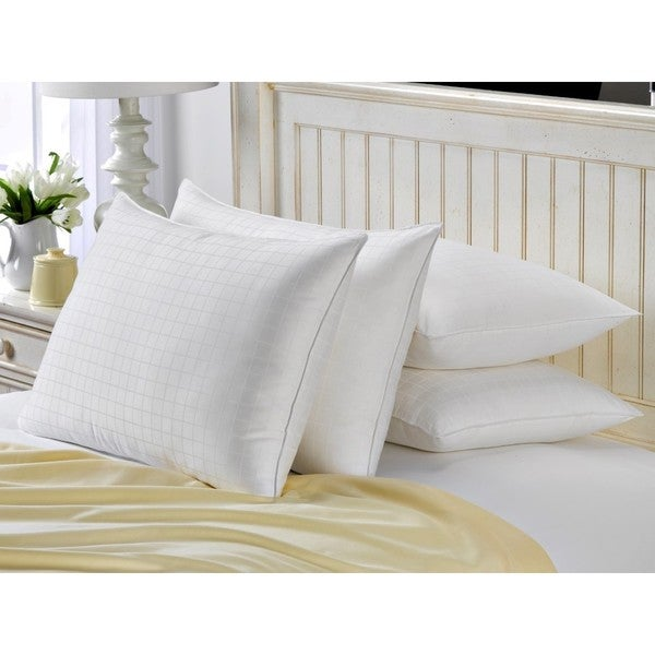 Hotel Luxe Down-alternative Gel Filled King-size Pillow (Set of 4)