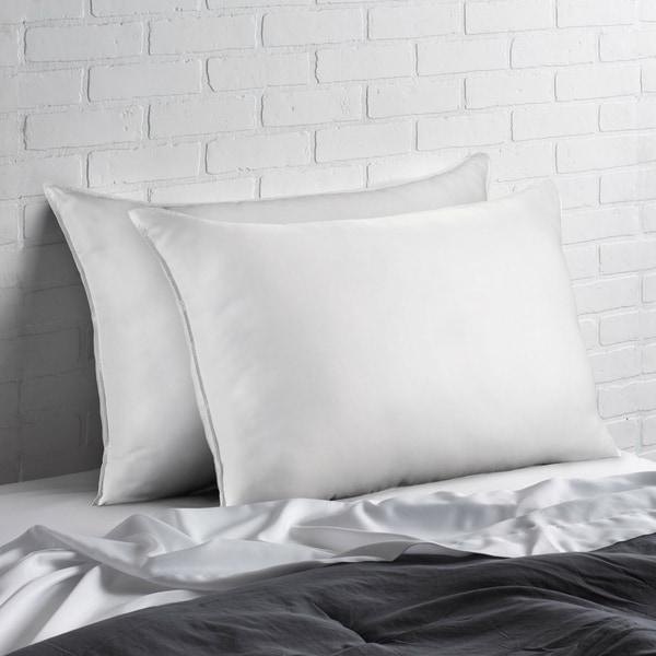 Signature Allergy Resistant Down-Alternative Gel Fiber King-Size Pillow (Set of 4). Opens flyout.