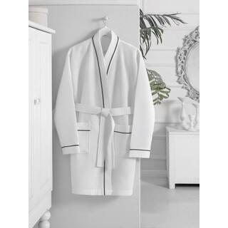 Turkish Cotton Kimono Short Waffle Bath Robe https://ak1.ostkcdn.com/images/products/12343791/P19173104.jpg?impolicy=medium