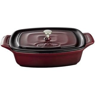 La Cuisine Ruby Cast Iron 7-inch Mini Rectangular Casserole