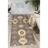 Barclay Butera Prism Pebble Area Rug (2'3 x 8') by Nourison