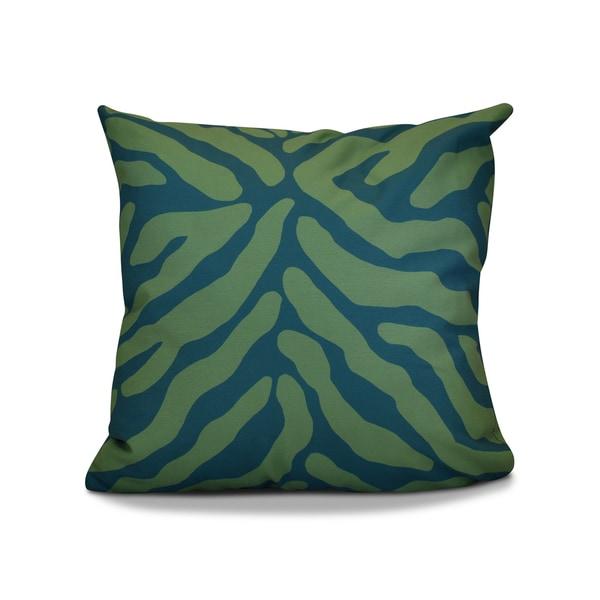 20 x 20-inch Animal Stripe Geometric Print Pillow