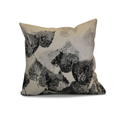 20 x 20-inch Fall Memories Floral Print Pillow