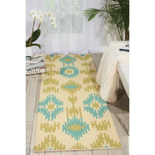 Barclay Butera Prism Honeydew Area Rug (2'3 x 8') by Nourison