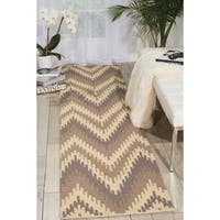 Barclay Butera Prism Sand Dune Area Rug (2'3 x 8') by Nourison