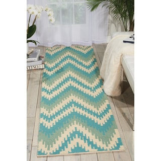 Barclay Butera Prism Pacific Area Rug (2'3 x 8') by Nourison