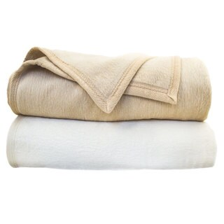 European Luxury Cotton Blend Blanket