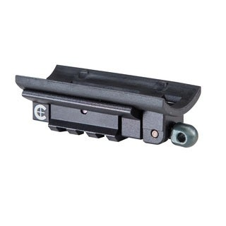 Caldwell Black Steel AR Picatinny Rail Adapter Plate