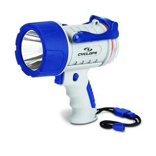 Cyclops Marine ABS Rechargeable 300-lumen Waterproof LED Spotlight