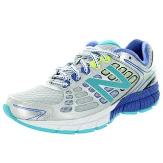 New Balance Women's 1260V4 Silver/Turquoise/Blue Lapis Running Shoe