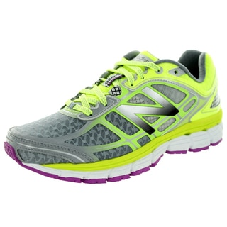 New Balance Women's 860V5 Grey And Green Running Shoe