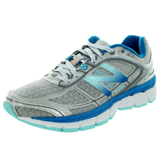 New Balance Women's 860V5 Silver With Sea Spray and Wave Running Shoe