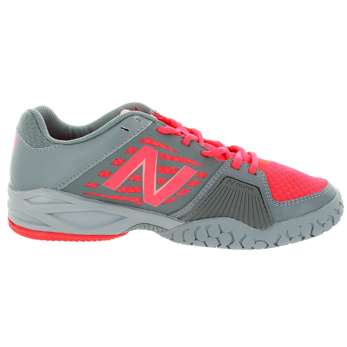 New Balance Women's 896 Coral PinkGrey Tennis Shoe