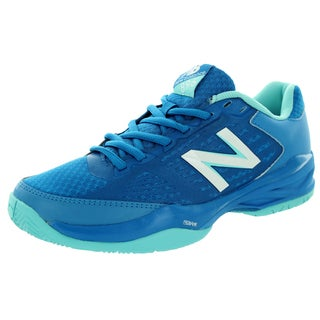 New Balance Women's 896 Blue With Blue Atoll Tennis Shoe