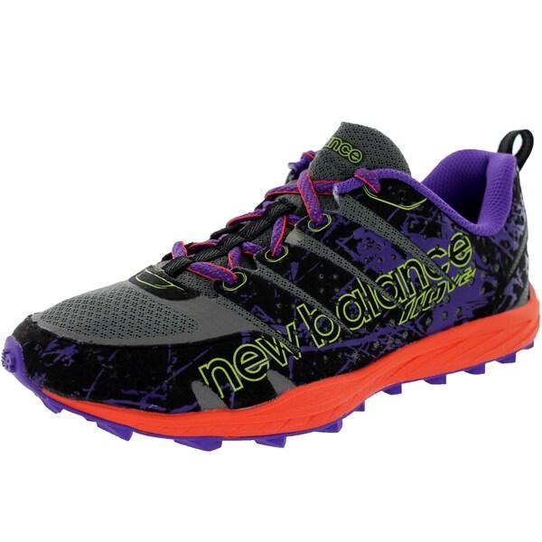 New Balance Women's 110V2 Grey/Purple/Brightt Cherry Running Shoe