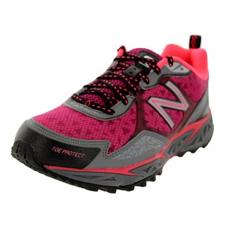 New Balance Women's 910 Plenty Pink With Grey And Pink Shock Running Shoe