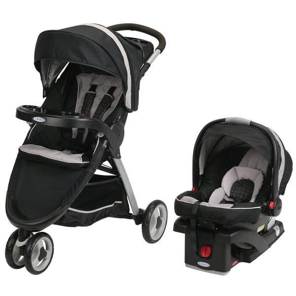 Shop Graco Black Fast Action Sport SnugRide Click Connect ...