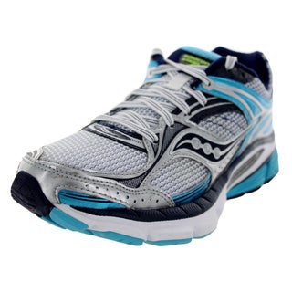 Saucony Women's Stabil Cs 3 White/Blue/Navy Running Shoe