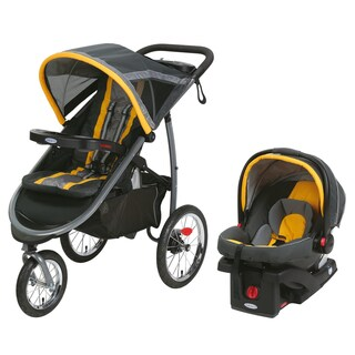 Graco Fast Action SnugRide Click Connect 35 Elite Sunshine Plastic Jogger Travel System