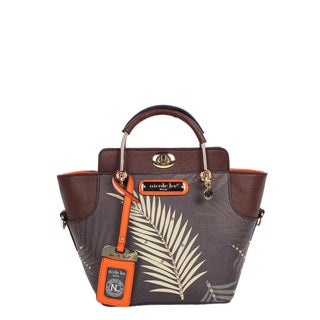 Nicole Lee Isle Palm Tree Print Mini Bag