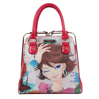 Nicole Lee Xochil Print Frame Handbag