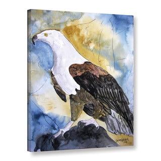 Derek McCrea's 'Eagle Bird painting' Gallery Wrapped Canvas
