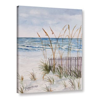 Derek McCrea's 'Florida Beach painting' Gallery Wrapped Canvas