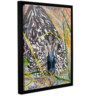 Derek McCrea's 'Mallard Duck' Gallery Wrapped Floater-framed Canvas