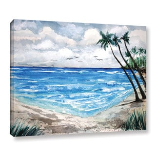 Derek McCrea's 'Beach' Gallery Wrapped Canvas