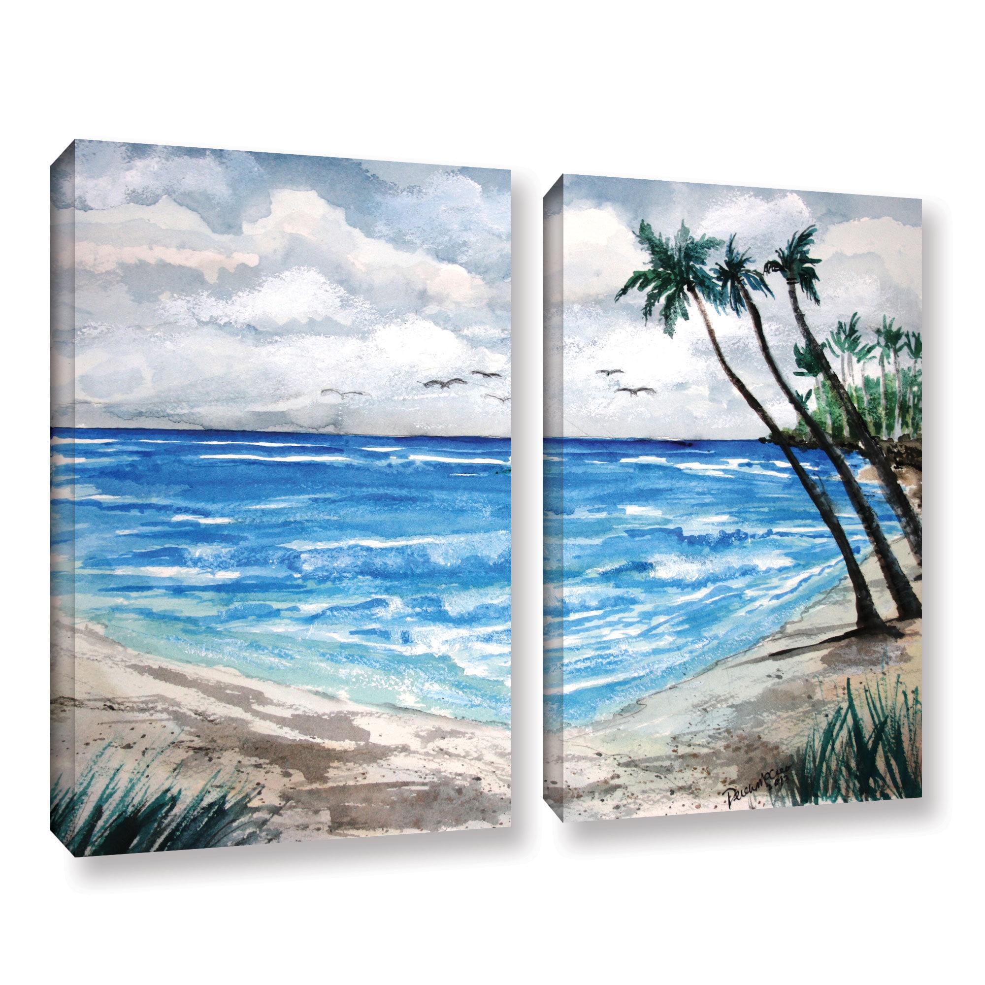 Derek McCrea's 'Beach' 20 Piece Gallery Wrapped Canvas Set