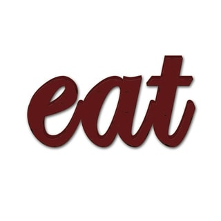 Rustic Decor 'Eat' Wood Sign