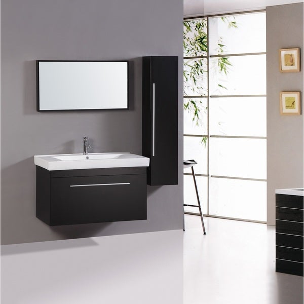 Super Legion Furniture 40 Inch Sink Vanity With Mirror And Side Cabinet Download Free Architecture Designs Viewormadebymaigaardcom