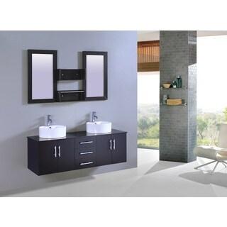 Legion Furniture 60-inch Sink Vanity With Mirror