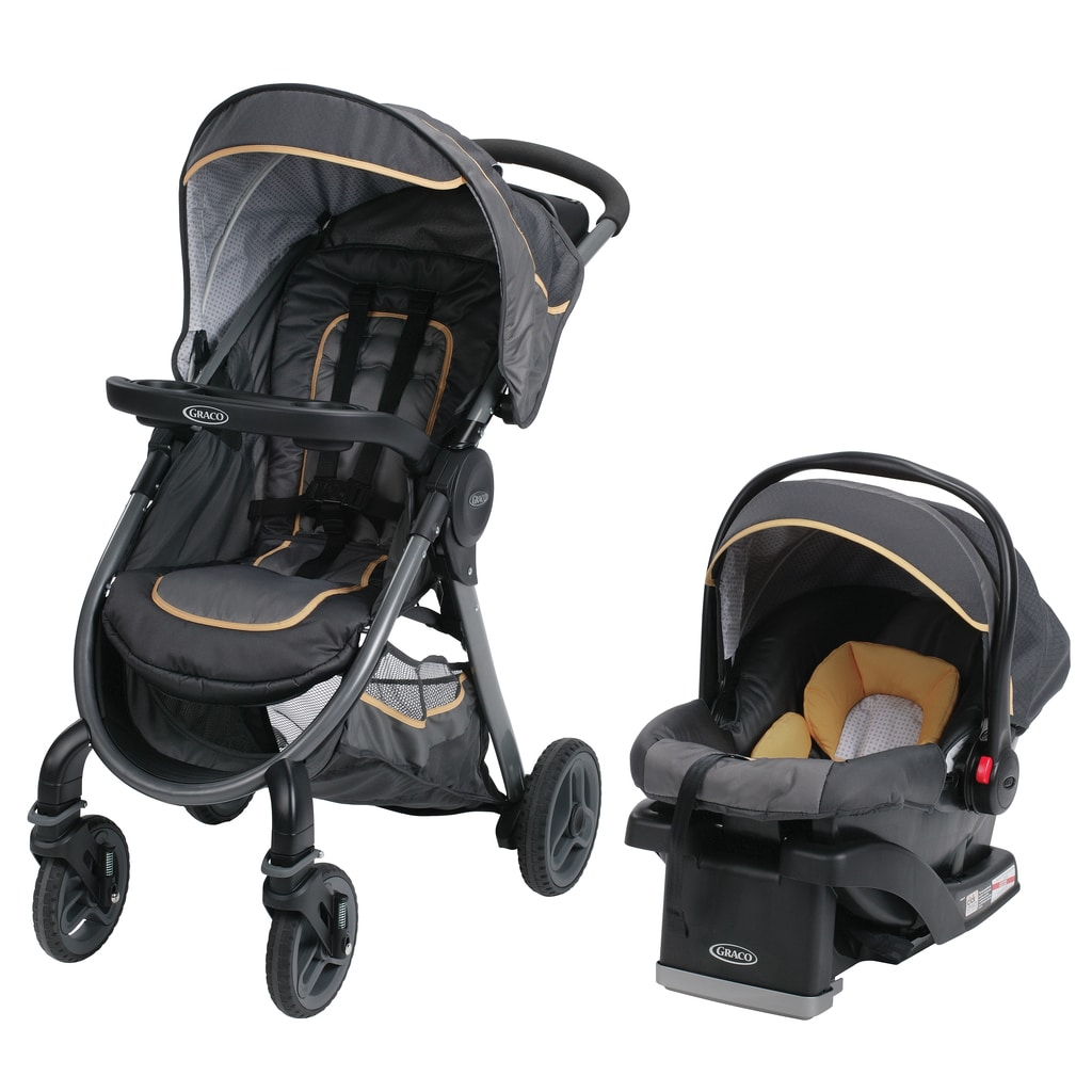 Graco Fast Action 2.0 Sunshine Travel System With SnugRid...