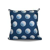 20 x 20-inch Dip Dye Dots Geometric Holiday Print Outdoor Pillow