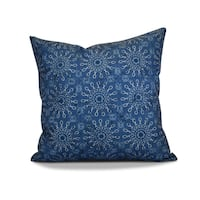 20 x 20-inch Sun Tile Geometric Print Outdoor Pillow