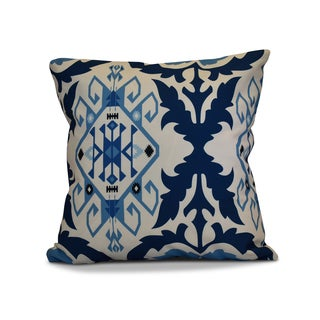 20 x 20-inch Bombay 6 Geometric Print Outdoor Pillow