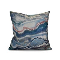 20 x 20-inch Remolina Geometric Print Outdoor Pillow