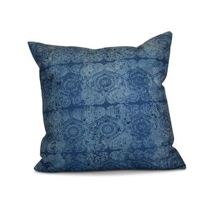 20 x 20-inch Patina Geometric Print Outdoor Pillow