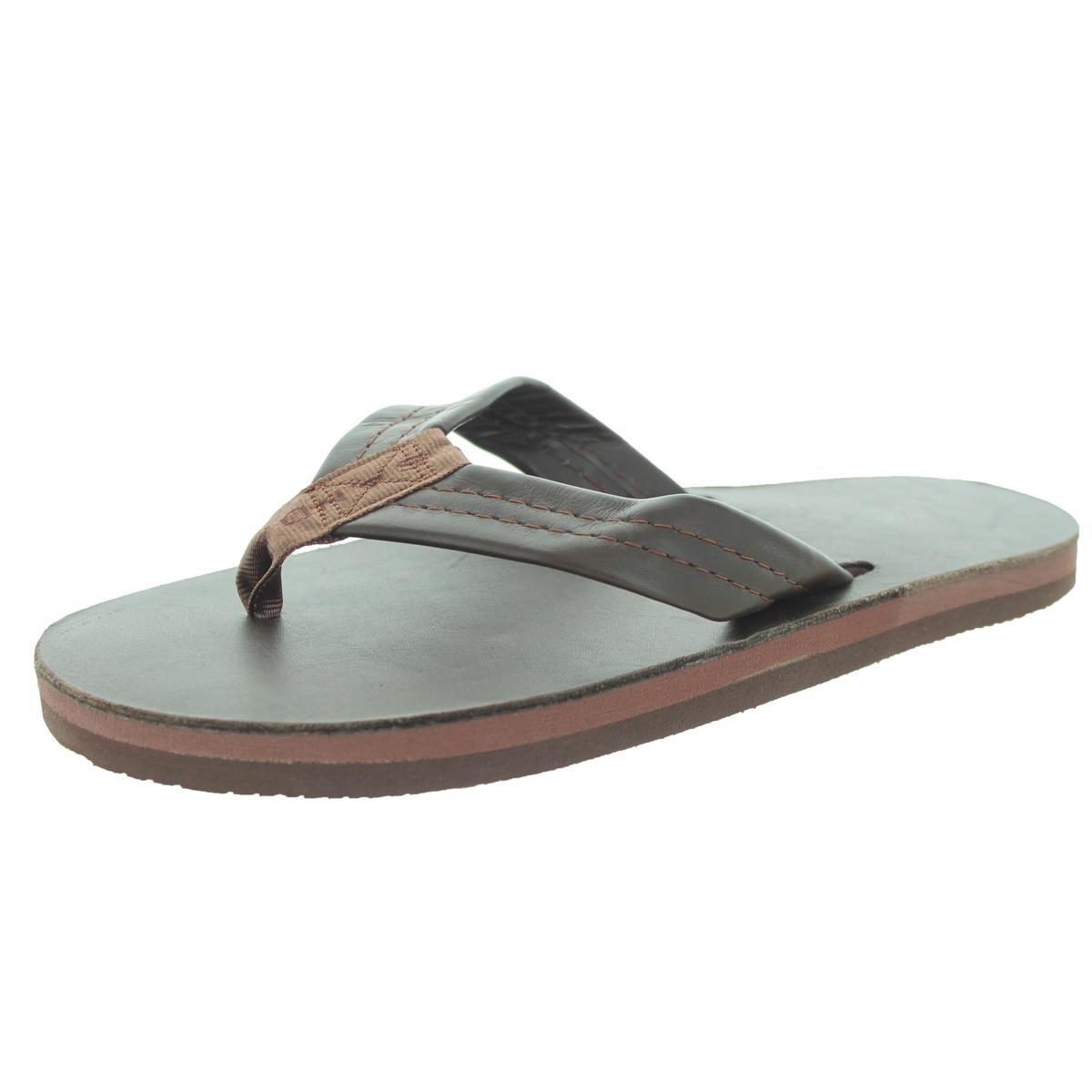 Rainbow Sandals Men's Single Layer Premier Mocha Sandal (...