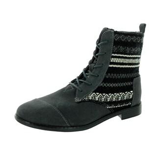 Toms Women's Alpa Grey Suede Boot
