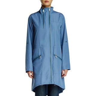 Elie Tahari Molly Blue Trench Coat