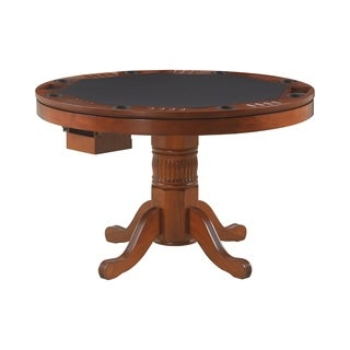 Coaster Company 3-in-1 Oak Game Table - Brown