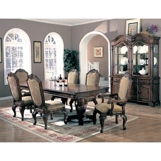 Coaster Company Saint Charles Double Pedestal Wood Dining Table