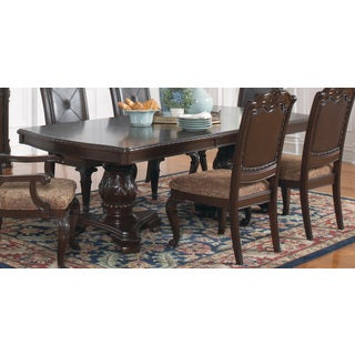 Coaster Company Cherry 18-Inch Ext Dining Table